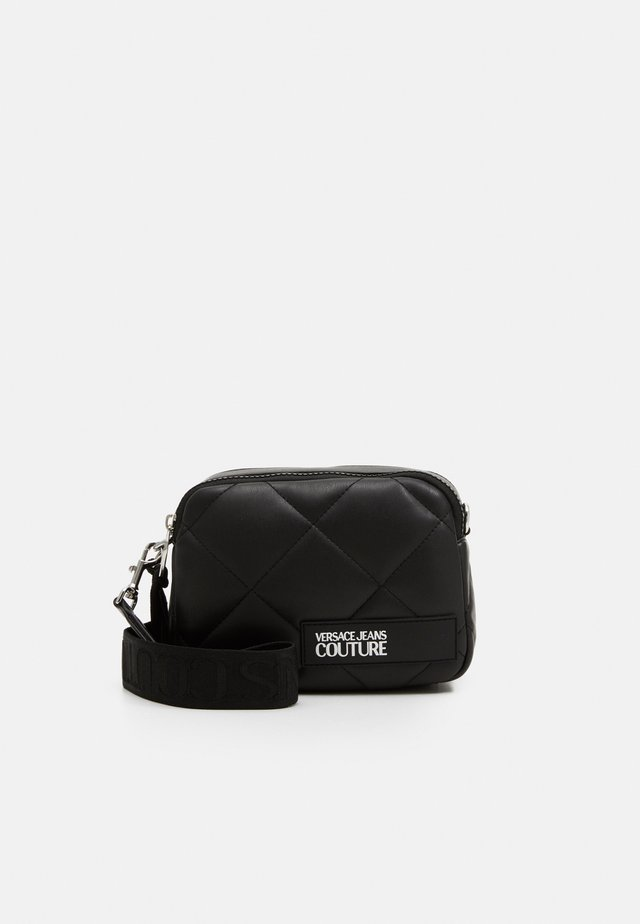 CAMERA BAG QUILTED - Olkalaukku - nero
