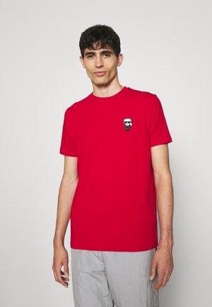 CREWNECK - Print T-shirt - crimson