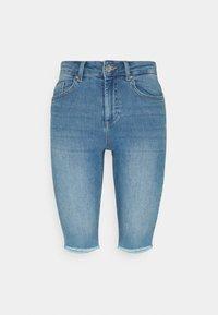 ONLY - ONLBLUSH WAIST LONG - Jeansshorts - medium blue denim - 3