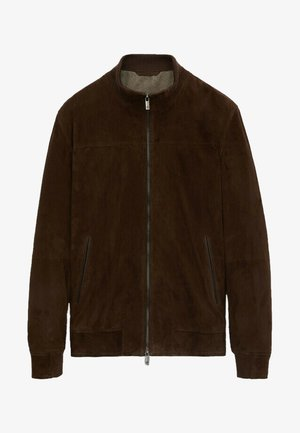 Lederjacke - brown