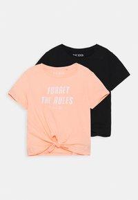 Blue Seven - TEEN GIRL 2 PACK - Print T-shirt - multi coloured - 0