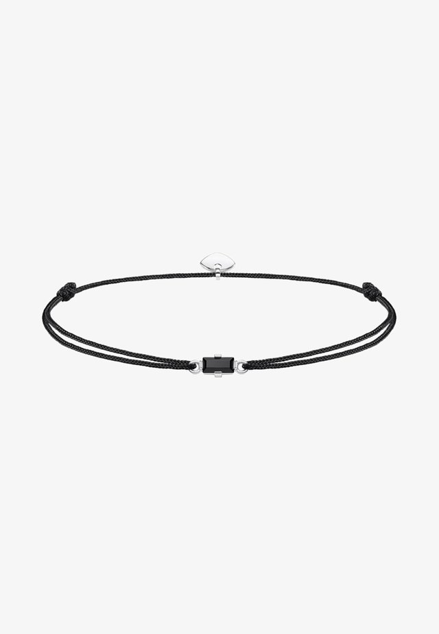 LITTLE SECRET - Armband - black/silver-coloured