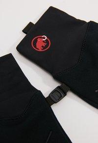 Mammut - ASTRO GLOVE - Handsker - black - 4