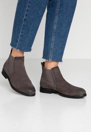 MATILDE - Boots à talons - dark grey