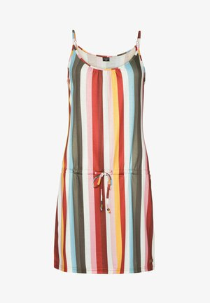 BOUNTIER - Day dress - clay