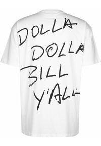 Chi Modu - Print T-shirt - white/black - 1