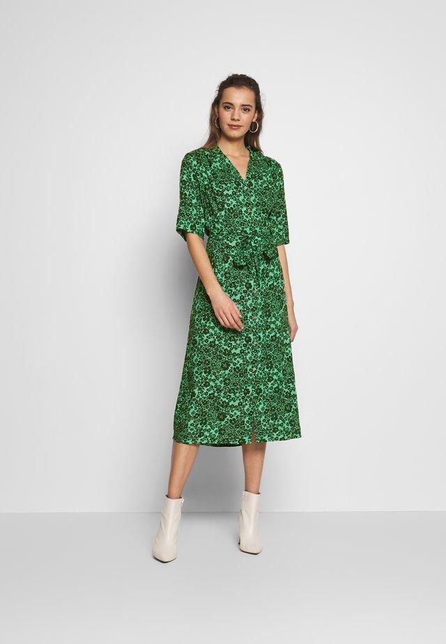 MENNE - Vardagsklänning - dark green/turquoise