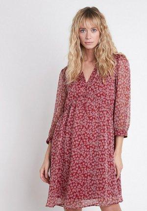 Shirt dress - rouge foncé
