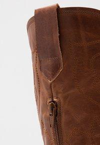 RE:DESIGNED - RYLEE - Cowboy/Biker boots - cognac - 2