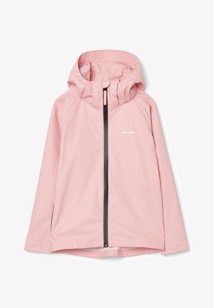 Waterproof jacket - light rose