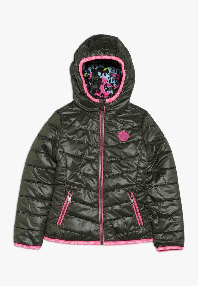 TRINNE - Winter jacket - olive night