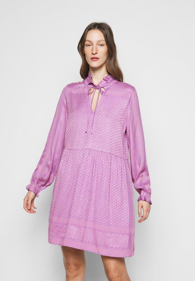 Korte jurk - violette