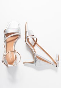 Shoe The Bear - ROSANNA STRAP - Sandals - silver - 3