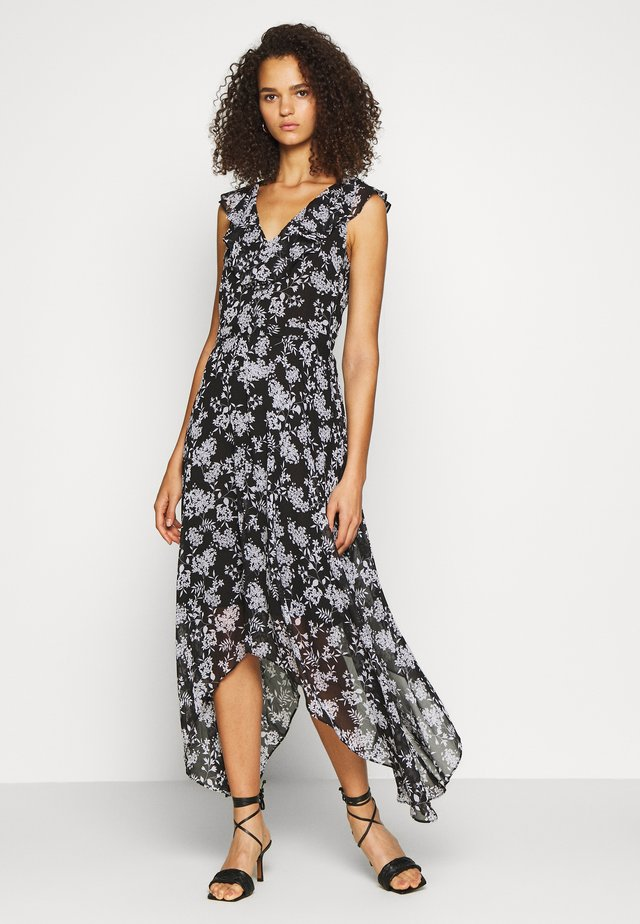 RUFFLE MAXI - Maxi dress - black
