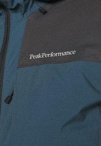 Peak Performance - MAROON RACE JACKET - Kurtka narciarska - blue steel - 5
