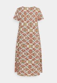ONLY Carmakoma - CARDES LIFE DRESS - Maxi dress - oatmeal - 6