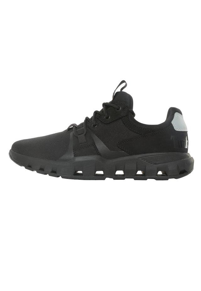 URBAN EXIT SOCK-FIT OXFORD - Sneakersy niskie - jet black