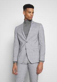 Limehaus - WINDOWPANE SUIT - Suit - grey - 2