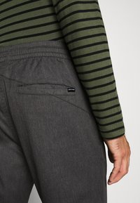 Volcom - FRICKIN SLIM FIT - Trousers - charcoal heather - 6