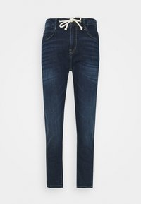 Opus - LOUIS - Jeans straight leg - dark washed blue - 4