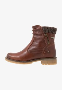 Be Natural - BOOTS - Classic ankle boots - cognac - 1