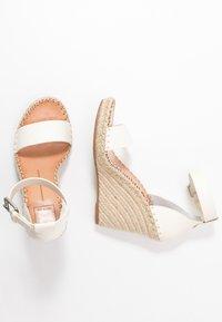Dolce Vita - NOOR - Sandalen met hoge hak - white - 3