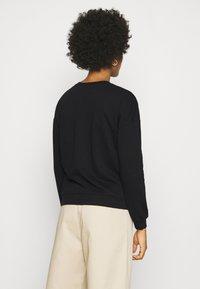Vero Moda - VMELLA BASIC  - Sweatshirt - black - 2