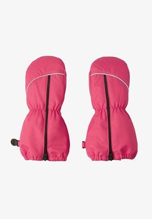 Gloves - azalea pink