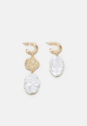 ASSYMMETRIC STATEMENT EARRING - Boucles d'oreilles - gold-coloured