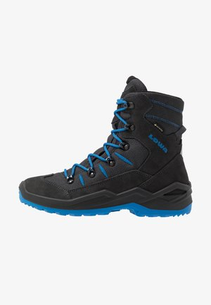 RUFUS GTX - Winter boots - anthrazit/blau