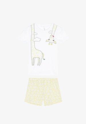 GIRAFFE - Pyjama set - bianco st.giraffa