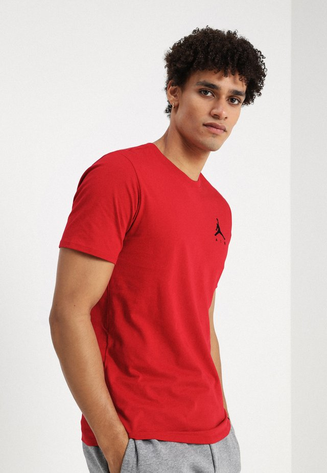 JUMPMAN AIR TEE - Jednoduché triko - gym red/black