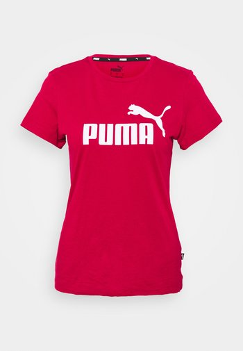 LOGO TEE - Print T-shirt - persian red