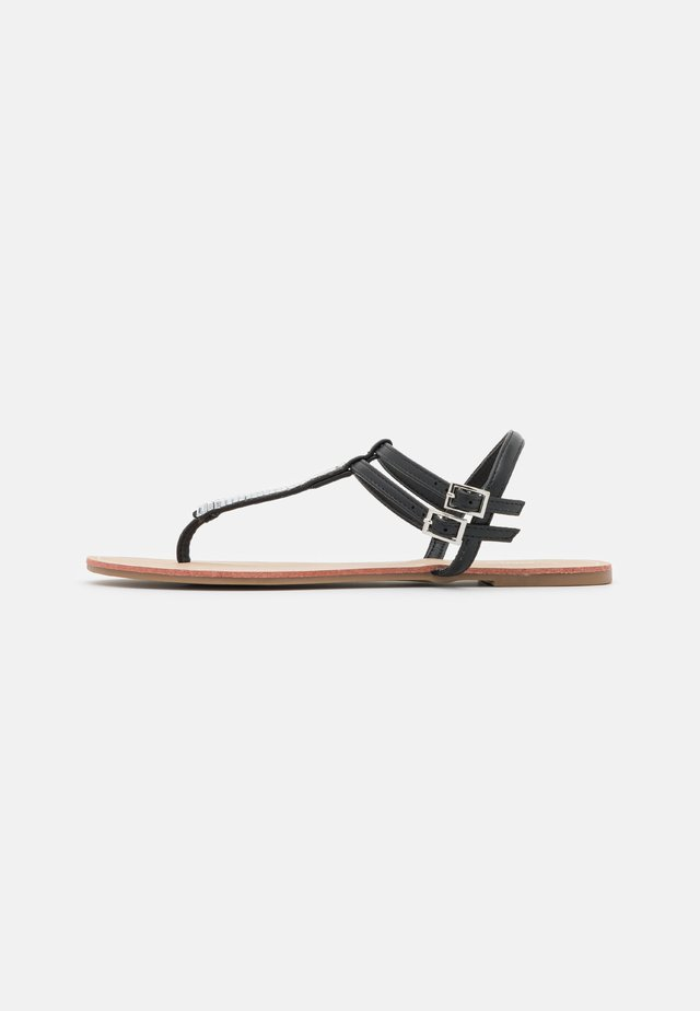 ONLMARGIT  - T-bar sandals - black