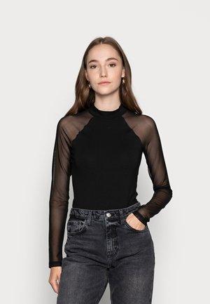 BODYSUIT - Camiseta de manga larga - black