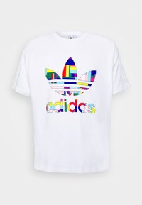 adidas Originals - SPORTS INSPIRED SHORT SLEEVE TEE - Print T-shirt - white/multi-coloured - 5
