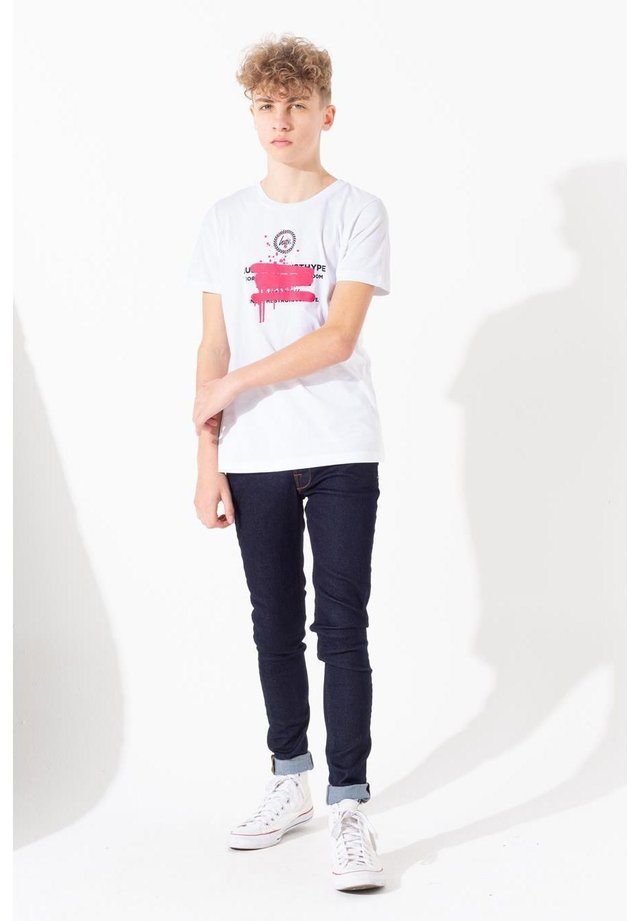 SPRAY GRAFFITI - T-shirt print - white
