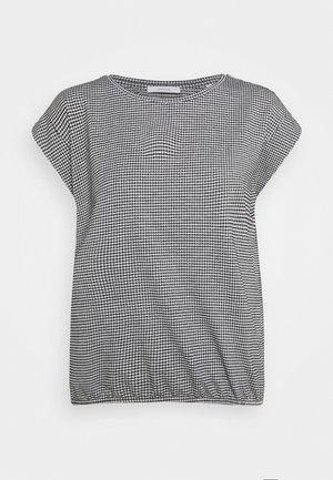 SAUMI - Print T-shirt - black