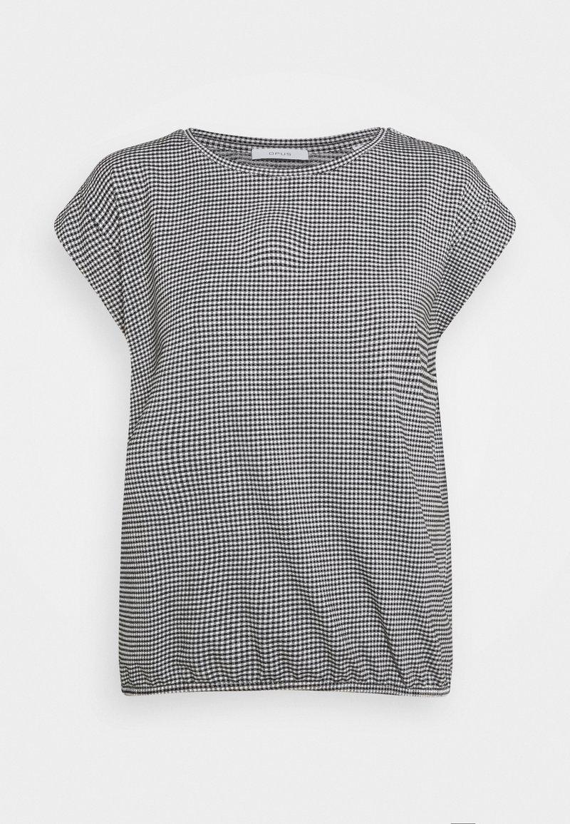 Opus - SAUMI - Camiseta estampada - black