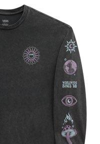 Vans - WM FADED DAZE OVERSIZED LS - Sweatshirt - black - 2