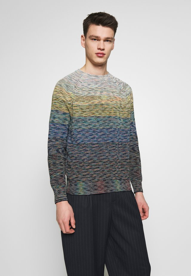 LONG SLEEVE CREW NECK - Maglione - blue