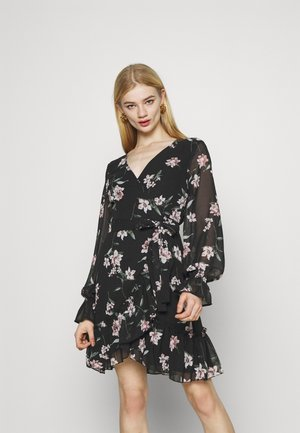 JULIANNA WRAP DRESS - Vardagsklänning - dark blue