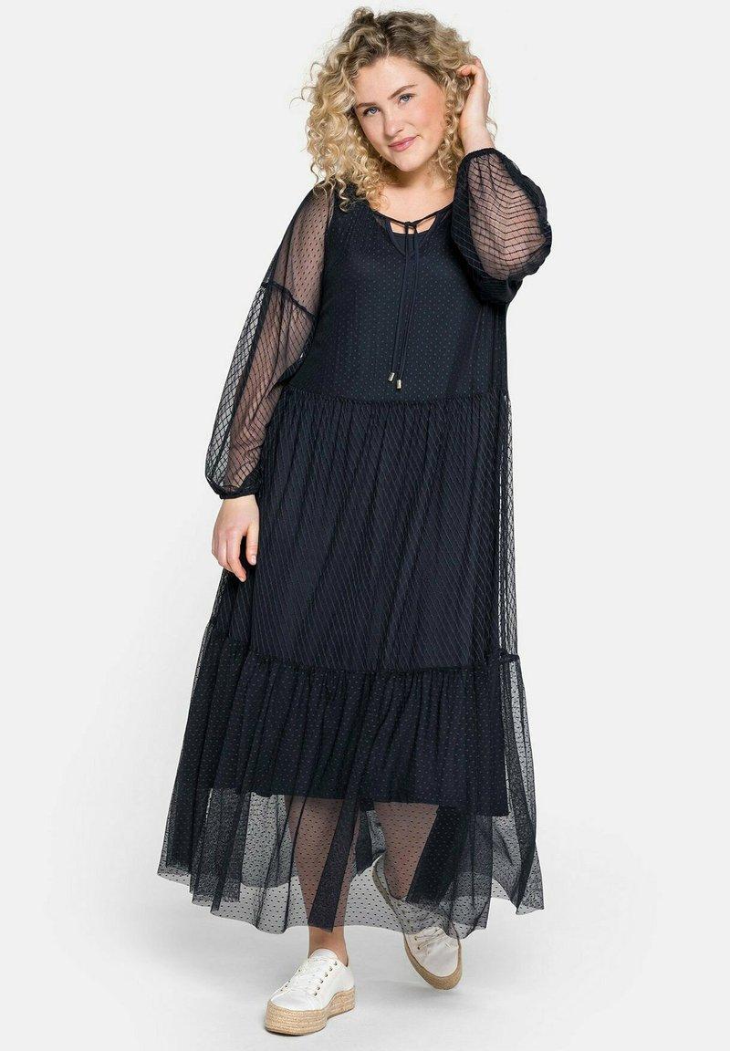 Sheego - Maxi dress - nachtblau