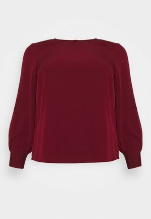 VMGABRINA - Long sleeved top - cabernet
