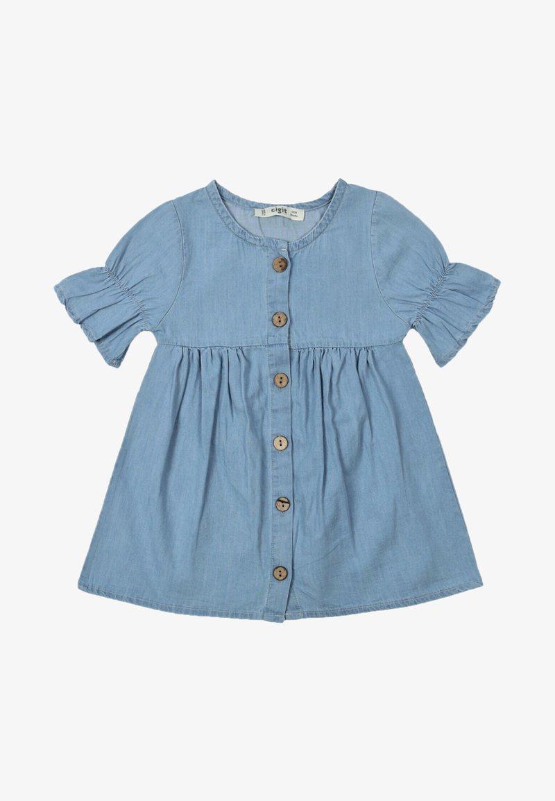 Cigit - Denim dress - blue denim