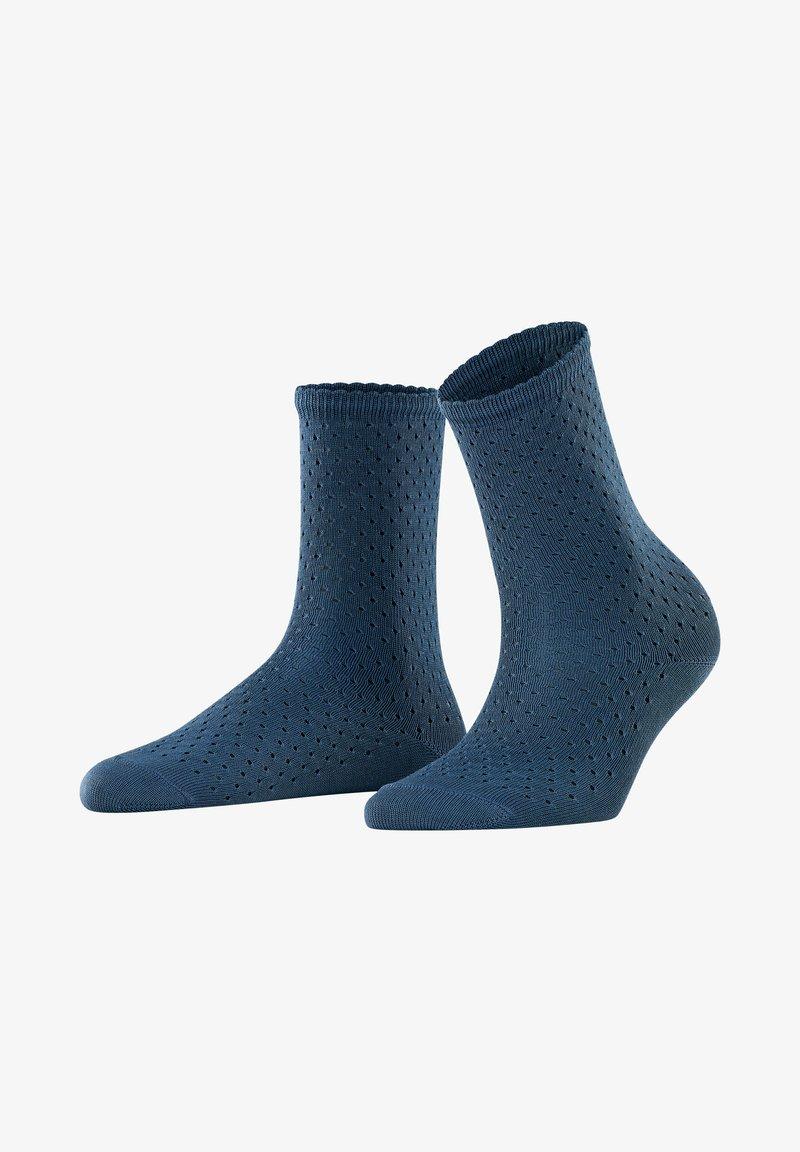 FALKE - POINTELLE - Socks - atlantic