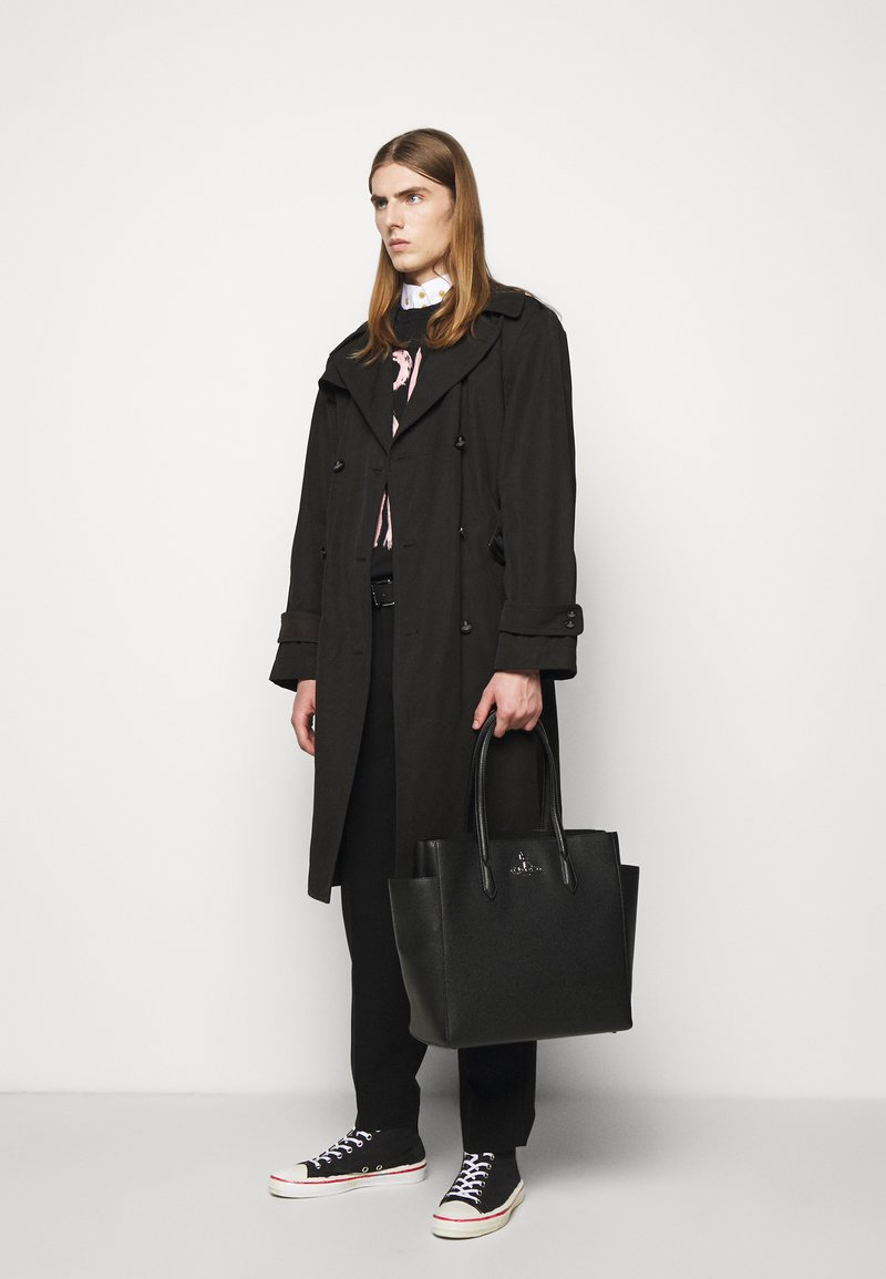 Vivienne Westwood - JOHANNA LARGE SHOPPER BAG UNISEX - Tote bag - black