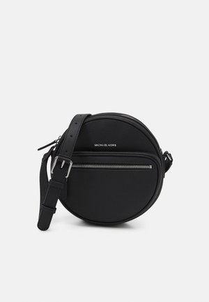 ROUND XBODY UNISEX - Across body bag - black