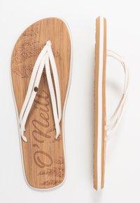 O'Neill - DITSY - T-bar sandals - powder white - 3