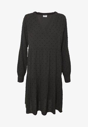 V-NECK DRESS - Robe d'été - black